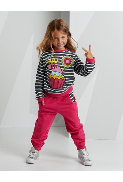 Mushi Kız Çocuk Cupcake Kız Eşofman Takım