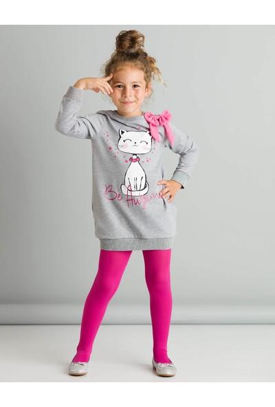 Ollie&Olla Kız Çocuk Be Awesome Elbise
