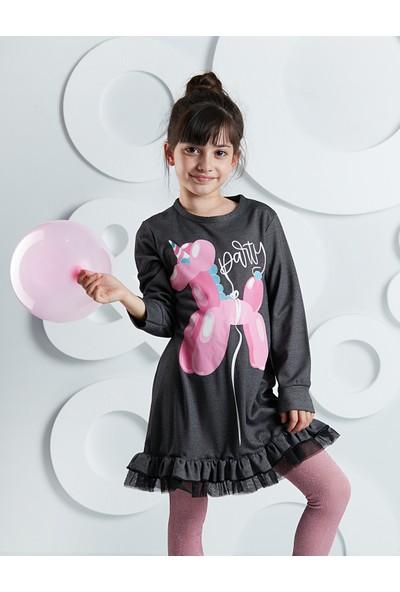 Ollie&Olla Kız Çocuk Party Unicorn Elbise