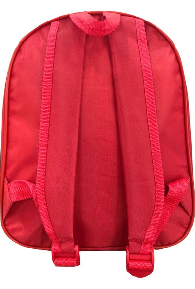 Fudela Gnc Design Kırmızı, Beyaz Kreş Anaokulu Çantası