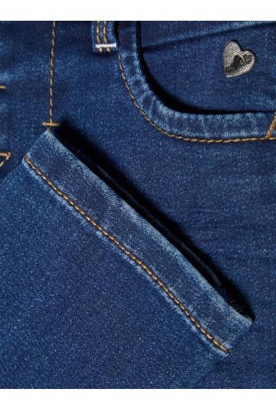 Name İt 1-7 Yaş Organik Pamuk Slim Fit Kız Çocuk Kot Pantolon