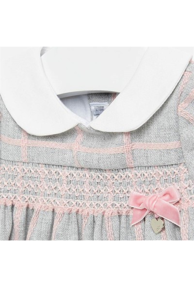 Mayoral 0-18 Ay Kız Bebek Bebe Yakalı Ekose Elbise