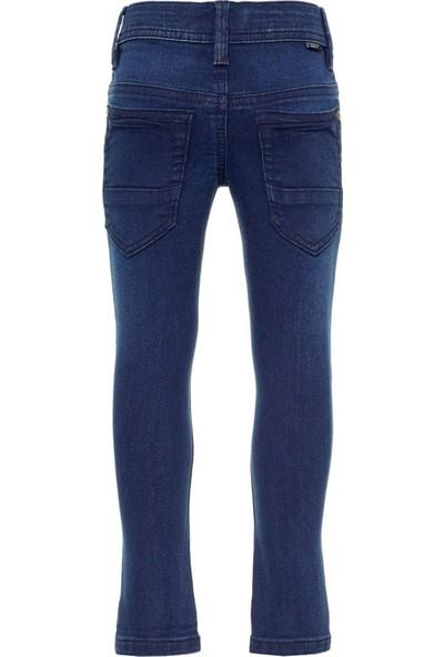 Name İt 2-7 Yaş Erkek Çocuk Organik Pamuk Slim Fit Kot Pantolon