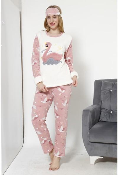 Akbeniz WellSoft Kadın Pijama Takımı 8038