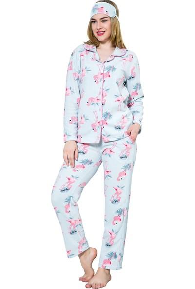 Akbeniz WellSoft Kadın Pijama Takımı 8047
