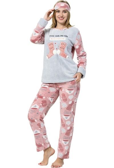 Akbeniz WellSoft Kadın Pijama Takımı 8051