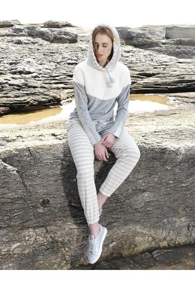Efsi 2031 Kadın Rahat Ev Giyim 2'li Takım