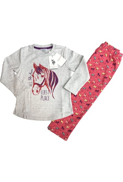 U.S. Polo Assn. Kız Çocuk Eşofman Takım - 2427