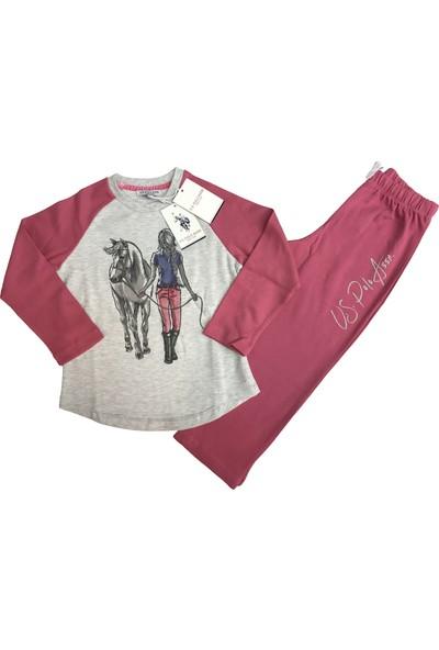 U.S. Polo Assn. Kız Çocuk Eşofman Takım - 2429