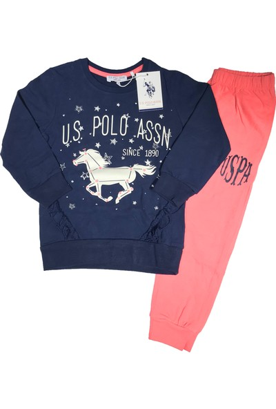 U.S. Polo Assn. Kız Çocuk Eşofman Takım - 2557