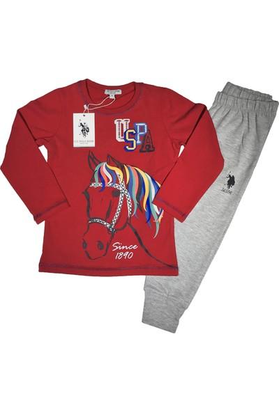 U.S. Polo Assn. Kız Çocuk Eşofman Takım - 2561
