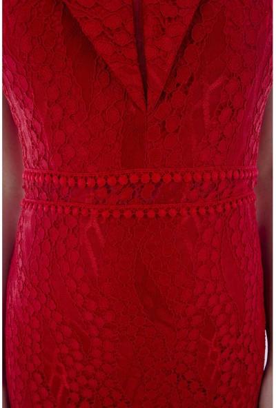 Arda New Line Kadın Kırmızı Abiye 1301460-10.08