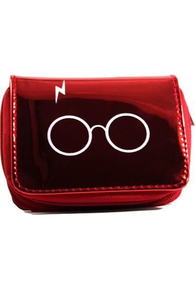 Modaroma Harry Potter Kırmızı Hologram Cüzdan