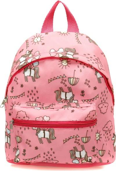 i Cool Gwsen1100 Çok Renkli Kız Çocuk Sirt Çantasi