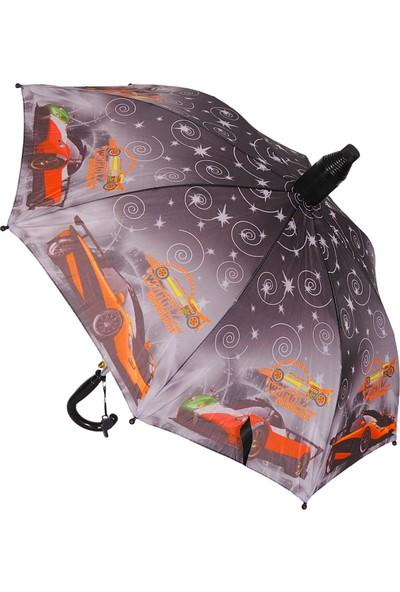 Kaktüskedi Siyah Çocuk Şemsiyesi 711572