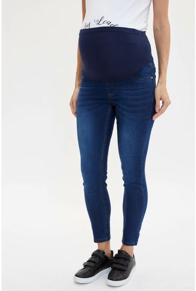 Defacto Kadın Slim Fit Hamile Jean Pantolon