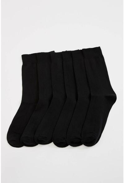 Defacto Erkek 6Lı Uzun Çorap