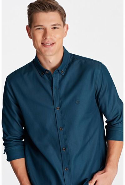 Mavi Erkek Lacivert Gömlek 020860-29843