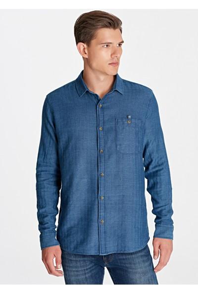 Mavi Erkek İndigo Gömlek 021320-18790