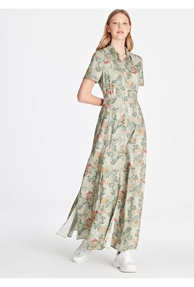 Çiçek Desenli Elbise 130489-25766