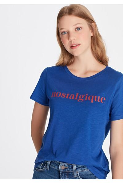 Nostalgıque Baskılı Tişört 168120-29714