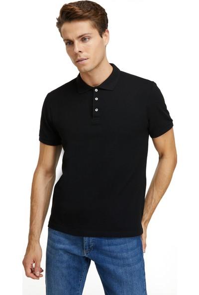 D'S Damat Erkek Regular Fit Tshirt Siyah