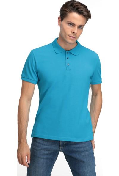 D'S Damat Erkek Regular Fit Tshirt Turkuaz