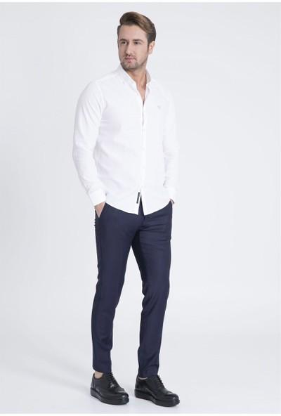 Lufian Erkek Slim Fit Bernıca Gömlek