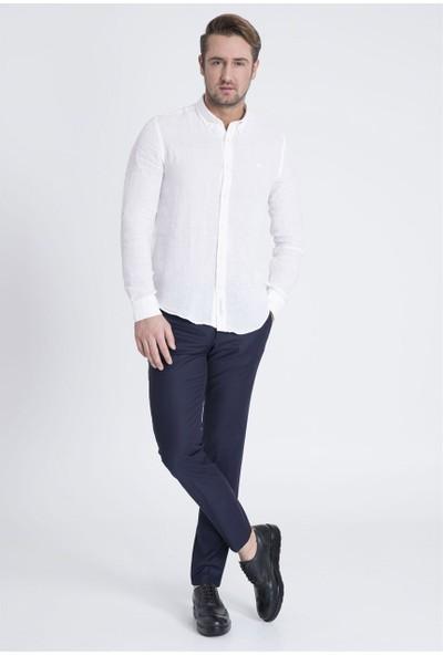 Lufian Erkek Comfort Slim Fit Baıley Basic Gömlek
