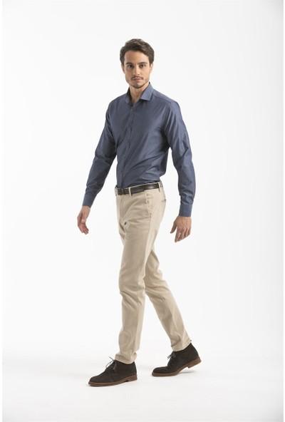 Lufian Erkek Slim Fit Banguı Smart Gömlek