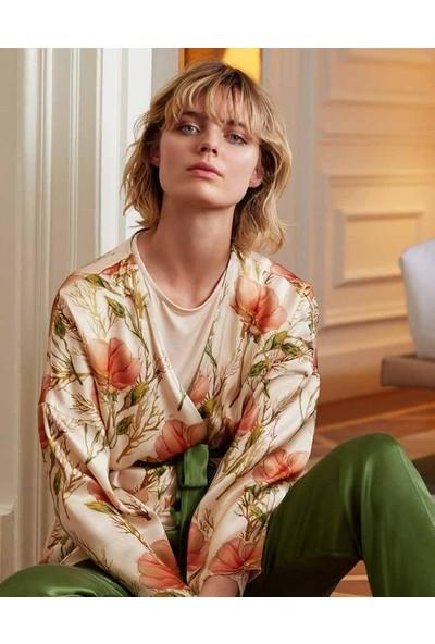 Feyza 3545 Sabahlıklı Pijama Takımı