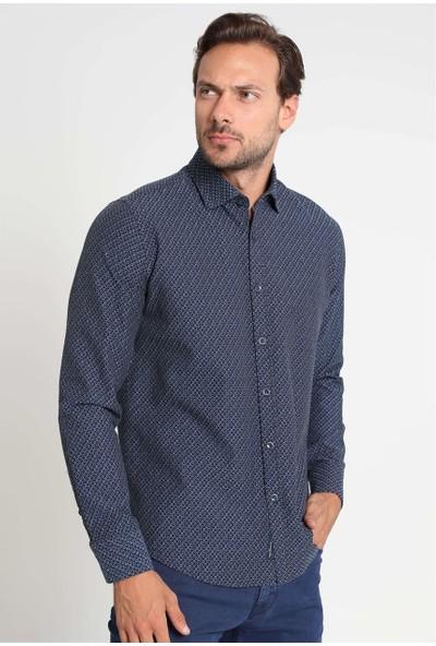 Lufian Erkek Slim Fit Cordoba Smart Gömlek