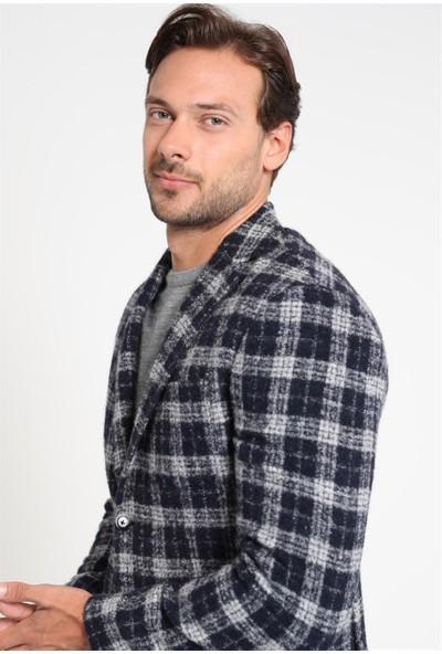 Lufian Erkek Slim Fit Budellı Spor Blazer Ceket