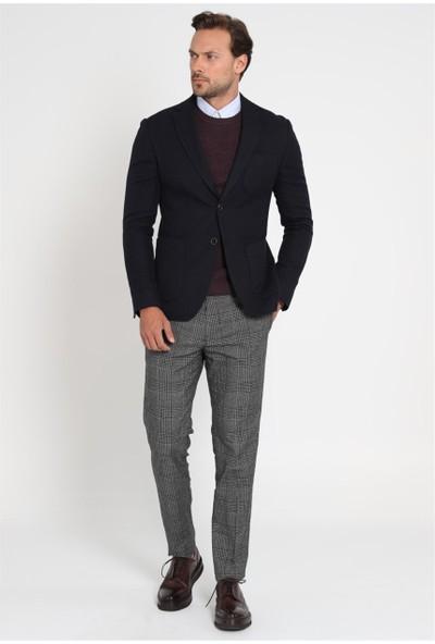 Lufian Erkek Slim Fit Vıeste Spor Blazer Ceket