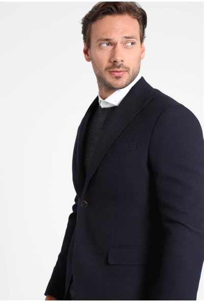 Lufian Erkek Slim Fit Sorrento Spor Blazer Ceket