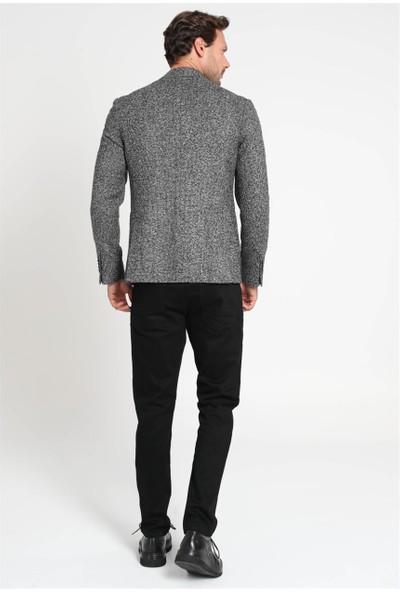 Lufian Erkek Slim Fit Lınz Spor Blazer Ceket