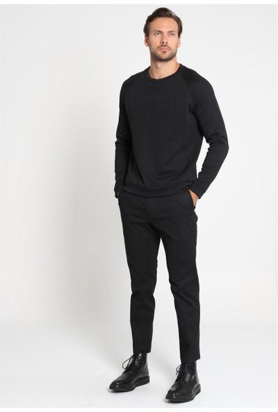 Lufian Erkek Slim Fit Kartı Spor Chino Pantolon