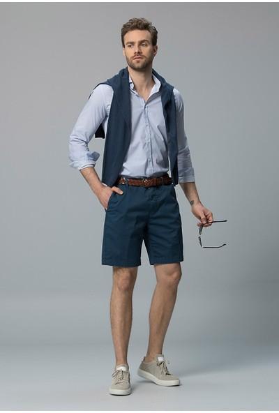 Lufian Erkek Slim Fit Astor Spor Gömlek