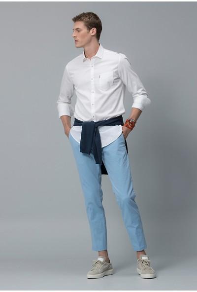 Lufian Erkek Slim Fit User Smart Gömlek