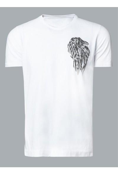 Lufian Erkek Evohe Modern Grafik T- Shirt