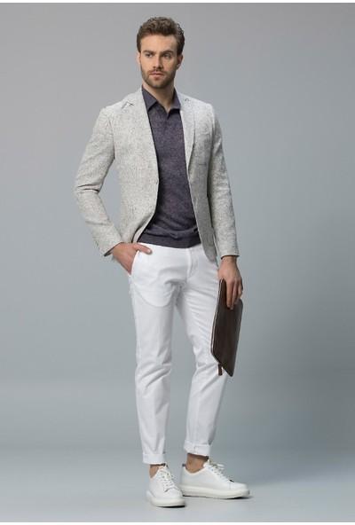 Lufian Erkek Slim Fit Marano Spor Blazer Ceket