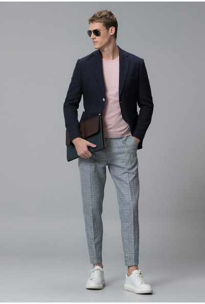 Lufian Erkek Slim Fit Zwett Spor Blazer Ceket