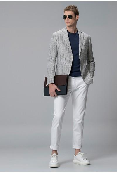 Lufian Erkek Slim Fit Loranı Smart Chino Pantolon