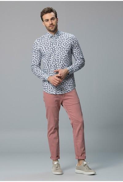 Lufian Erkek Slim Fit Teith Smart Gömlek