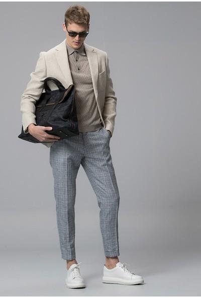 Lufian Erkek Slim Fit Vitoria Spor Blazer Ceket