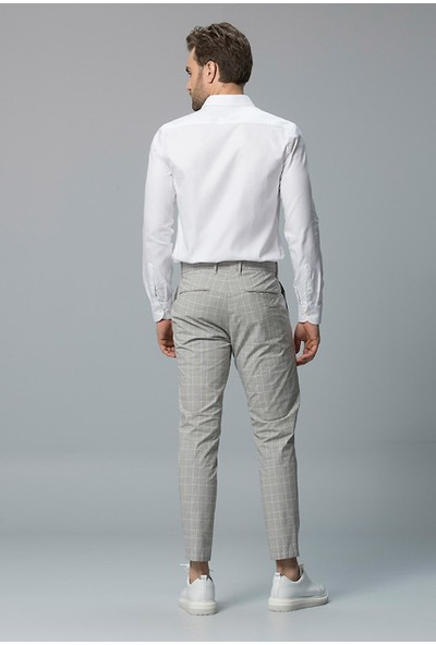 Lufian Erkek Comfort Slim Fit Eige Smart Gömlek