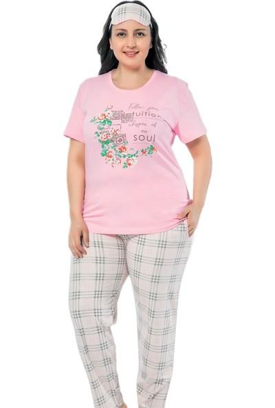 Pijama Evi Soul Desenli Büyük Beden Büyük Beden Battal Pijama Takımı