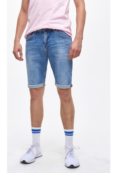LTB Lance Constance Wash Erkek Jeans Şort