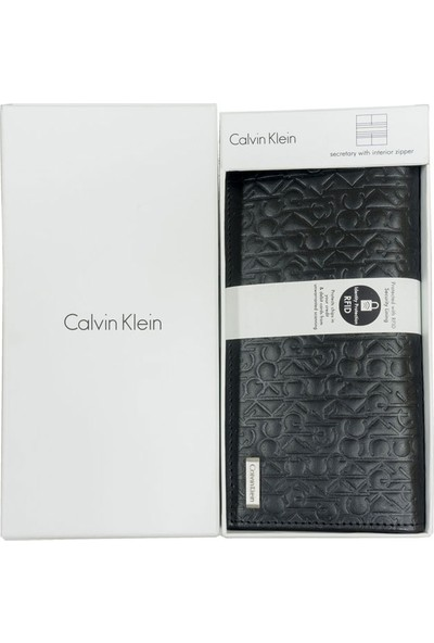 Calvin Klein Kadın Cüzdan 74283-Blk