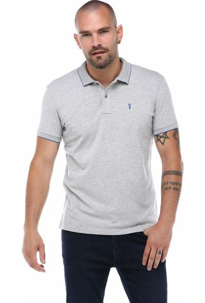 Port Royale Erkek Basic Likralı Polo T-Shirt